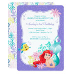 Ariel | Under the Sea Adventure Birthday Invitation