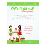 Best Friends and Cupcakes and Christmas! Invitation