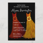Bridesmaid Luncheon or Brunch Fall Dresses S001 Invitation