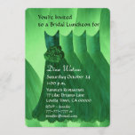 Bridesmaid Luncheon or Brunch Kelly Green V02L Invitation