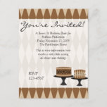 Cocolate Cakes Invitation