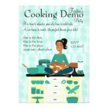 Cooking Teacher Card