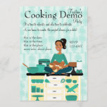 Cooking Teacher Invitation