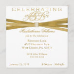 Elegant 85th Birthday Party Invitations