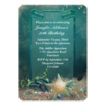 Elegant Ocean Theme Birthday Card