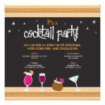 Fabulously Festive Cocktail Party (tangerine) Card