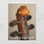 FIddlehead invitation
