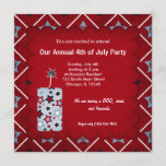 Freedom 4th of July Invitation