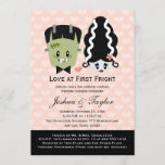 Halloween Couples Wedding Shower Invitations