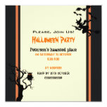 Halloween Haunted Place Party Invitation Square