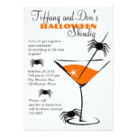 Halloween Martini Shindig! Card
