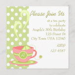 Hot Tea Invitation