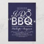 I do BBQ rehearsal dinner invitation NAVY