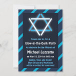 Invitation for Glow-in-the-Dark Bar Mitzvah