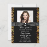 Leopard Photo Graduation Announcements