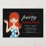 Makeup party invitation