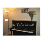 Piano invitation