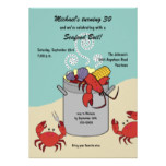 Seafood Boil Birthday Invitation