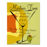 Snazzy Martini Time Invitation