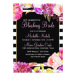 Springtime Floral Bouquet Bridal Shower Card