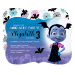 Vampirina Birthday Invitation