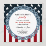 Welcome Home Military Party Invitation